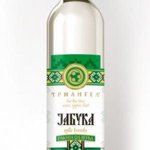 Rakija Triangel apple / Ракия Триангел ябълка